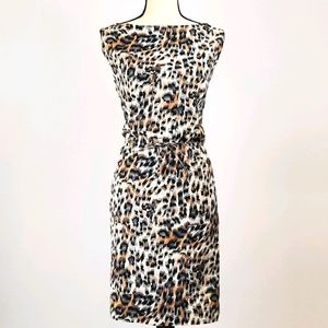 Chloé Animal Print Dress